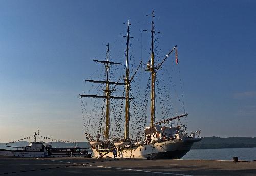 Na takim statku spokojnie mogę płynąć do celu :-)