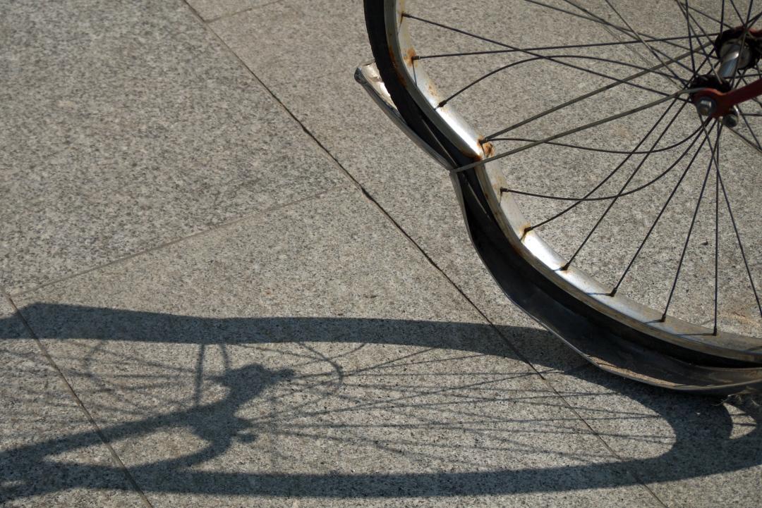 popsuty rower